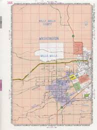 Walla Walla Washington Map by Colledge Place Map