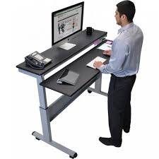 Adjustable Standing Sitting Desk Crank Standing Desk