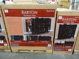 Bar Cabinet With Wine Cooler Tresanti Barton Storage Bar Cabinet