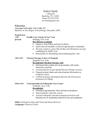 Cover Letter And Resume Samples by Summer Camp Nurse Sample Resume Chemistry Lab Technician Cover