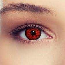 cc red sclera contacts lenses pair 011 88 00 colored