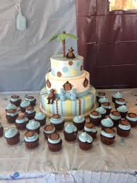 monkey theme baby shower cakecentral com