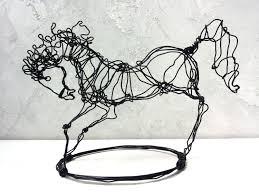 Horse Home Decor by Horse Sculpture Home Decor Wire Decor Wire Horse Wire Art