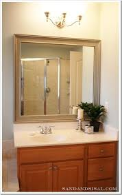 Best  Framed Bathroom Mirrors Ideas On Pinterest Framing A - Plain bathroom mirrors