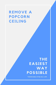Asbestos Popcorn Ceiling Year by 48 Best Popcorn Ceiling Remove Images On Pinterest How To Remove