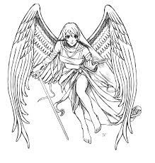 angel 82 characters u2013 printable coloring pages