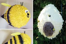 bumble bee pinata fabulous find adorable custom made piñatas hostess with the