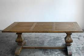 large trestle dining table large provincial farmhouse trestle dining table douglas fir at 1stdibs