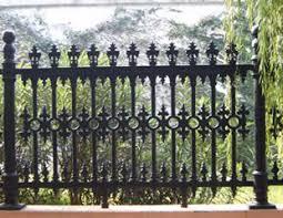 ornamental iron fences ornamental fences made of wrought iron