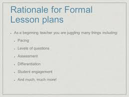 formal lesson planning with edtpa and team integration dr leslie