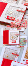 spellbinders snowflake window shaker cards video blog hop