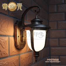 wholesale waterproof outdoor led wall lamp stainless steel wall