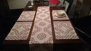 dk threads table runners placemats