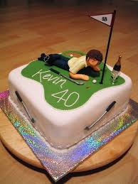 my cakes kevin u0027s 40th golf theme birthday cake