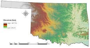 Oklahoma vegetaion images Oklahoma climatological survey png