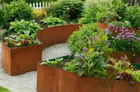 8 best crops for a potager garden sunset
