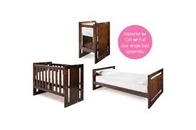 Bassinet Converts To Crib Overture Bassi Crib Plus Bed Kit Grotime Australia