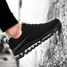 ultra light running shoes palm cushion shoes men s 2018 summer sports shoes men s black gym