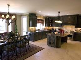 Dark Kitchen Island Color Schemes For Kitchen U0027s With Black Cabinets Outofhome