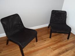 Ikea Chair Black Ikea Nolmyra Easy Chairs Black In Derby Derbyshire Gumtree
