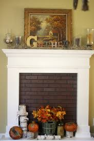 furniture magnificent brick fireplace mantel design for any space