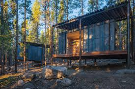 colorado building workshop constructs 14 micro cabins within a
