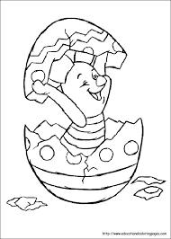 winnie pooh easter coloring piglet winnie pooh