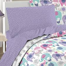Elephant Print Comforter Set Amazon Com Dream Factory 2a851702pp Ellen Elephant Comforter Set