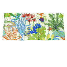 splash home decor splish splash tropical reef fish cafe valances u2013 barnett home decor