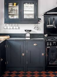 used kitchen cabinets hamilton farrow s black has been used here on this shaker