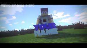 3d amazing top 10 minecraft animation intro template free