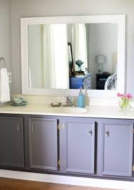 How To Frame A Bathroom Mirror With Crown Molding The Beginner U0027s Guide To Patching And Painting Baseboards Just A