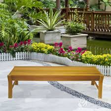 Western Red Cedar Outdoor Furniture by Cedar Delite Garden Style Western Red Cedar Bench In Benches