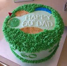 golf cake a neat alternative to stacking your cake cake