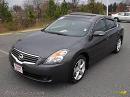 dark gray nissan 2009 nissan altima 3 5 se in dark slate metallic 143905 autos