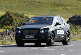 suv bentley 2016 bentley suv captured testing in its production body photos