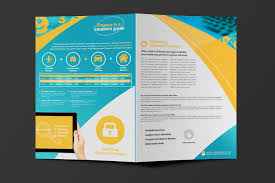 window cleaning leaflet template blue and yellow cleaning lady