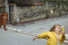Chubby Girl Running Meme - happy memeversary chubby bubbles girl memebase funny memes
