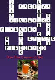 cider one clue crossword