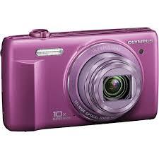 olympus vr 340 battery olympus vr 340 digital purple v105080vu000 b h photo