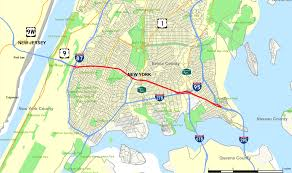 New York Gang Map by Cross Bronx Expressway Wikipedia