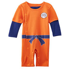 Dragon Baby Halloween Costume Aliexpress Buy Baby Boy Goku Son Romper Infant Dragon Ball