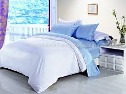 white color luxury hotel bedroom bed linen set cotton bed sheets