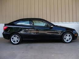 mercedes c class sale used 2003 mercedes c class c230 sports coupe for sale in nc