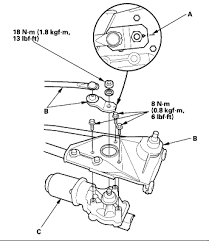 2003 honda accord wiper motor how to replace a wiper motor on 2000 honda accord