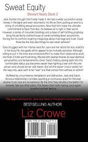sweat equity stewart realty book 2 amazon ca liz crowe books