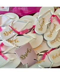 wedding flip flops check out these hot deals on bridesmaid flip flops white