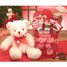 valentines big teddy valentines day gift basket for thereviewsquad