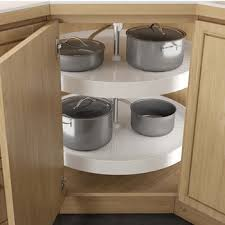 kitchen corner cupboard rotating shelf lazy susans hafele 2 shelf revolving corner