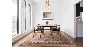 what size rug under dining table rugs 101 selecting rug sizes for every room